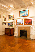 Gallery in the Nicholas Roerich Museum