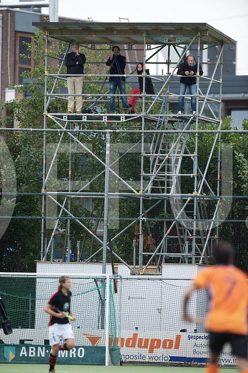 EINDHOVEN - Oranje Zwart- Schaerweijde<br /> Hoofdklasse mannen<br /> Foto: Video toren.<br /> FFU PRESS AGENCY COPYRIGHT FRANK UIJLENBROEK