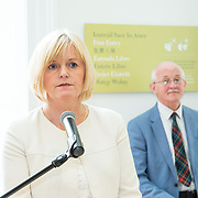 30.05. 2017.                                             <br /> Limerick Museum opened the doors to its new home at the former Franciscan Friary on Henry Street in the heart of Limerick city, dedicated to the memory of Jim Kemmy, the former Democratic Socialist Party and Labour Party TD for Limerick East and two-time Mayor of Limerick.<br /> <br /> Pictured at the opening of the new Museum was  Josephine Cotter Coughlan.<br /> <br /> The museum will house one of the largest collections of any Irish museum. Picture: Alan Place