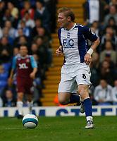 Photo: Steve Bond.<br />Birmingham City v West Ham United. The FA Barclays Premiership. 18/08/2007. Gary O'Connor with the ball