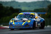 August 4-6, 2011. American Le Mans Series, Mid Ohio. 68 TRG, Dion von Moltke, Mark Bunting
