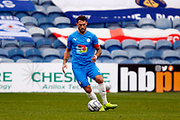 Liam Hogan. Stockport County 1 (6-7) 1 Chesterfield. Emirates FA Cup. 24.10.20