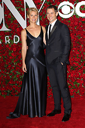 June 12, 2016 - New York City, NY, USA - Claire Danes and Hugh Dancy arriving at the 70th Annual Tony Awards at The Beacon Theatre on June 12, 2016 in New York City  (Credit Image: © Nancy Rivera/Ace Pictures via ZUMA Press)