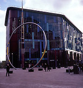 Central Library building, Cardiff, Wales