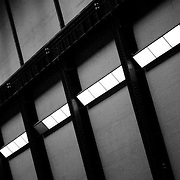 Tate Modern gallery wall detail, London, England (September 2006)