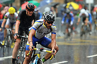 Commonwealth Games, Cycling in the Rain through the streets of Glasgow