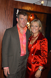 JO MALONE and her husband GARY WILLCOX at a party hosted by Jo Malone - Pomegranate Noir, held at The Vinyl Factory, 45 Foubert's Place, London W1 on 15th September 2005.<br /><br />NON EXCLUSIVE - WORLD RIGHTS