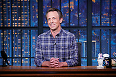 """May 10, 2021 - US: NBC's """"Late Night With Seth Meyers"""" - Episode: 1143A"""