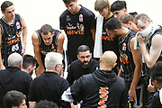 Taylor Hawks head coach Adam Forde in the Sal's NBL Basketball match, Taylor Hawks v EnviroNZ Bulls, Pettigrew Green Arena, Napier, Saturday, June 26, 2021. Copyright photo: Kerry Marshall / www.photosport.nz