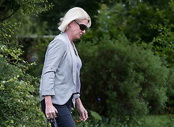 © Licensed to London News Pictures. 26/06/2016. Oxfordshire, UK. MP Amanda Milling arrives at the home of Boris Johnson for a meeting. Prime Minister David Cameron his holding a cabinet meeting tomorrow after announcing his resignation on Friday. The United Kingdom has voted to leave the EU in an historic referendum.  Photo credit: Peter Macdiarmid/LNP