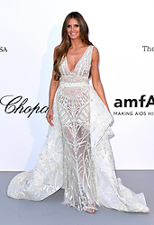 Heidi Klum attending the 25th amFAR Gala held at the Hotel du Cap-Eden-Roc in Antibes as part of the 71st Cannes Film Festival