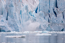 Nordenskjöld Glacier Calving