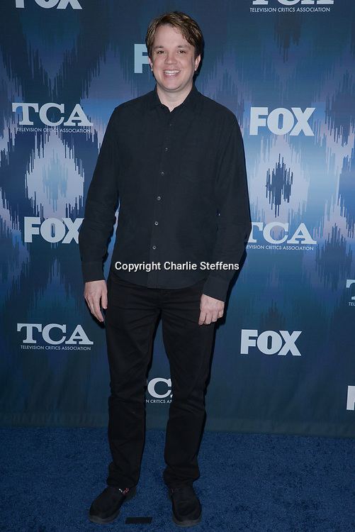 ERIC MILLIGAN at the Fox Winter TCA 2017 All-Star Party at the Langham Hotel in Pasadena, California