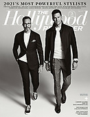 May 05, 2021 - US: Andrew Weitz & Tom Brady Cover The Hollywood Reporter