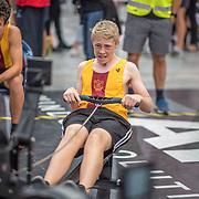 Scott Clark MALE HEAVYWEIGHT U15 1K Race #11  11:45am <br /> <br /> <br /> www.rowingcelebration.com Competing on Concept 2 ergometers at the 2018 NZ Indoor Rowing Championships. Avanti Drome, Cambridge,  Saturday 24 November 2018 © Copyright photo Steve McArthur / @RowingCelebration