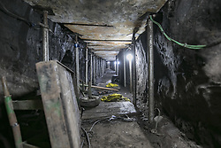October 3, 2017 - Sao Paulo, Brazil - Brazilian police discovered a 500-meter-long tunnel linking a house to the Banco do Brasil's safe in the city of Sao Paulo. 16 people suspected of participating in the construction of this tunnel were arrested and according to Brazilian authorities the gang intended to steal close to 1 billion reais (approximately 317 million dollars) (Credit Image: © Marcelo Chello/CJPress via ZUMA Wire)