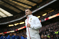 England's Danny Care before the Autumn International at Twickenham Stadium, London.