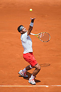 Paris, France. Roland Garros. May 27th 2013.<br /> Spanish player Rafael NADAL against Daniel BRANDS