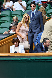 July 4, 2017 - London, London, United Kingdom - Image ©Licensed to i-Images Picture Agency. 04/07/2017. London, United Kingdom. Wimbledon Tennis Championships 2017- Day Two. Guest arrive for day two  Wimbledon Tennis Championships 2017.  Picture by Andrew Parsons / i-Images (Credit Image: © Andrew Parsons/i-Images via ZUMA Press)