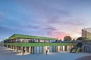 Sportpark Willem Alexander Schiedam, Moederscheim Moonen architecten