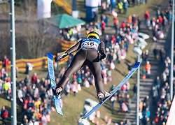 09.02.2020, Energie AG Skisprung Arena, Hinzenbach, AUT, FIS Weltcup Ski Sprung, Damen, im Bild Anna Shpyneva (RUS) // during her jump for the women's FIS Ski Jumping World Cup at the Energie AG Skisprung Arena in Hinzenbach, Austria on 2020/02/09. EXPA Pictures © 2020, PhotoCredit: EXPA/ Reinhard Eisenbauer