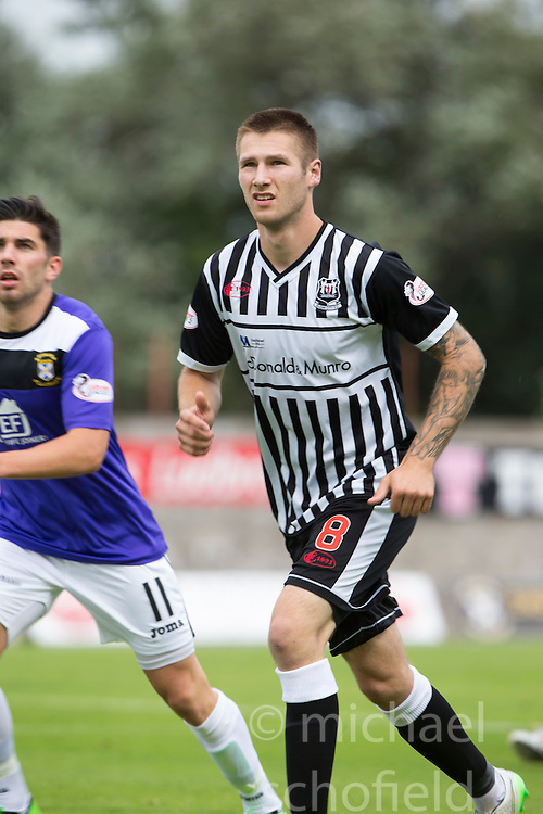 Elgin City's Brian Cameron. <br /> East Fife 2 v 1 Elgin City, Ladbrokes Scottish Football League Division Two game played 22/8/2015 at East Fife's home ground, Bayview Stadium.