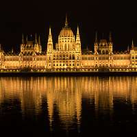 Buildig of Hungarian Parliament is seen with normal decoration lights turned on before Earth Hour in downtown Budapest, Hungary on March 28, 2020. ATTILA VOLGYI