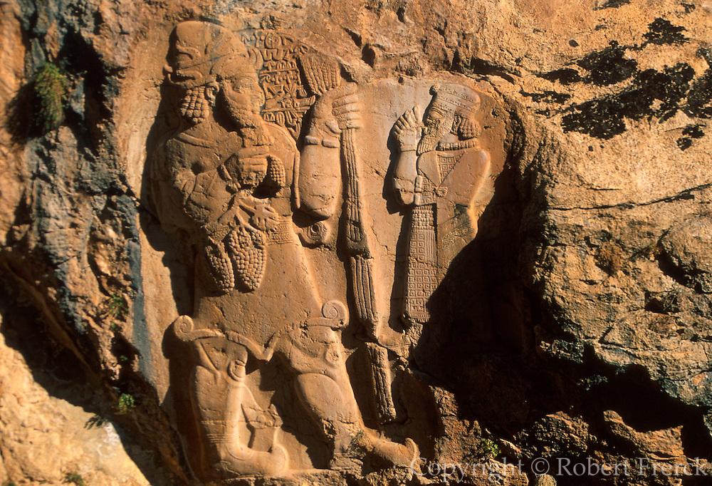 TURKEY, CAPPADOCIA Ivriz; neo-Hittite, king, fertility god