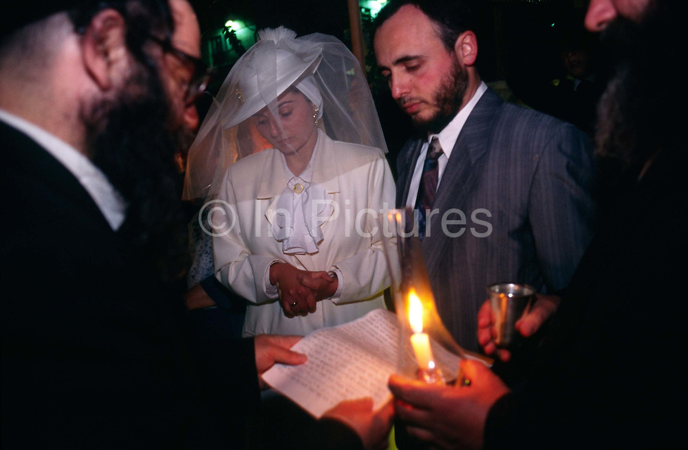 A Jewish wedding in Jerusalem