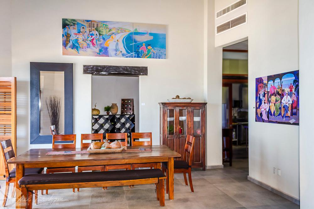 interior of the Casa Lucila boutique hotel, Olas Atlas No. 16, Centro, Mazatlan, Mexico