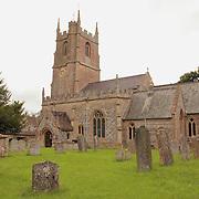 St. James Churchyard Old Headstones View - Avebury, UK