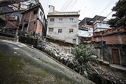 02.08.2016, Favela Rocinha, Rio de Janeiro, BRA, Rio 2016, Olympische Sommerspiele, Vorberichte, im Bild Häuser// Hauses during preparation for the Rio 2016 Olympic Summer Games at the Favela Rocinha in Rio de Janeiro, Brazil on 2016/08/02. EXPA Pictures © 2016, PhotoCredit: EXPA/ Johann Groder