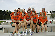 2004 Miami Hurricanes Swimming & Diving Photo Day