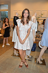 LAURA JACKSON at the Club Monaco Summer Cocktail party held at their store at 33 Sloane Square, London on 20th July 2016.