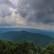 """""""Storm on Blue""""<br /> <br /> Wonderful stormy skies in the Blue Ridge Mountains!"""
