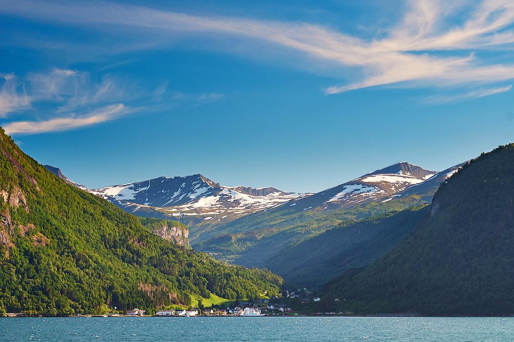 Norway - Møre og Romsdal - Tafjorden - Eidsdal