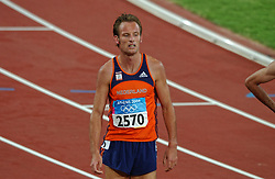Gert-Jan Liefers NED in action during Olympics Games Athletics day 12 on August 24, 2004 in Olympic Stadion Spyridon Louis, Athens.