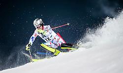 26.01.2016, Planai, Schladming, AUT, FIS Weltcup Ski Alpin, Schladming, Slalom, Herren, 1. Durchgang, im Bild Julien Lizeroux (FRA) // Julien Lizeroux of France competes during his 1st run of men's Slalom Race of Schladming FIS Ski Alpine World Cup at the Planai in Schladming, Austria on 2016/01/26. EXPA Pictures © 2016, PhotoCredit: EXPA/ Johann Groder
