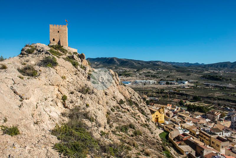 Castillo de Sax. Sax. Valle del Vinalopó. Alicante. España ©Antonio Real Hurtado / PILAR REVILLA