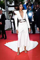 """""""Le Belle Epoque"""" Red Carpet - The 72nd Annual Cannes Film Festival. 20 May 2019 Pictured: Cindy Bruna. Photo credit: Daniele Cifalà / MEGA TheMegaAgency.com +1 888 505 6342"""