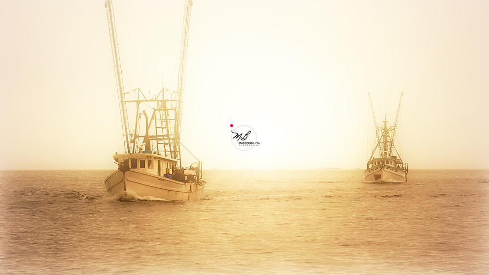 Shrimp Boats Gulf Coast