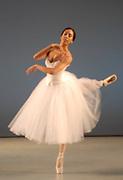 """GASTON DE CARDENAS/EL NUEVO HERALD - Carolyn Rose Ramsay in Les Sylphides as part of Miami City Ballet Dancers presents """"Our  Show 2007""""."""