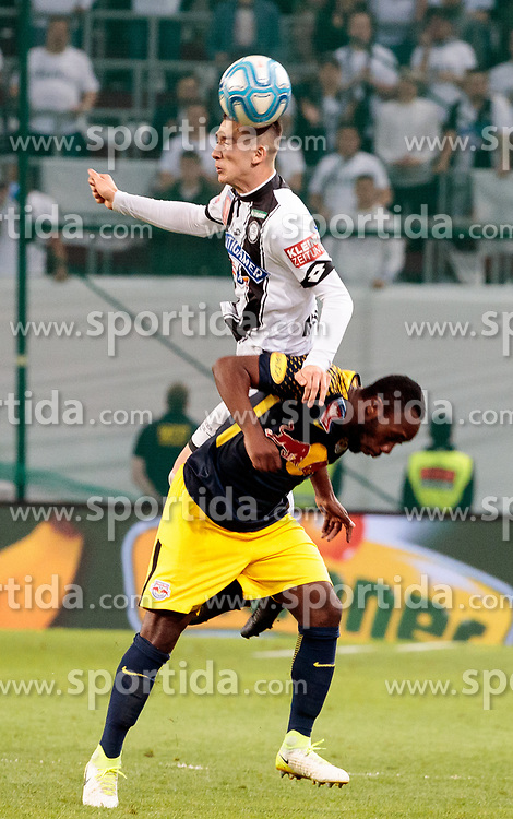 09.05.2018, Woerthersee Stadion, Klagenfurt, AUT, OeFB Uniqa Cup, SK Puntigamer Sturm Graz vs FC Red Bull Salzburg, Finale, im Bild v.l. Dario Maresic (SK Puntigamer Sturm Graz), Jerome Onguene (FC Red Bull Salzburg) // during the final match of the ÖFB Uniqa Cup between SK Puntigamer Sturm Graz and FC Red Bull Salzburg at the Woerthersee Stadion in Klagenfurt, Austria on 2018/05/09. EXPA Pictures © 2018, PhotoCredit: EXPA/ Johann Groder