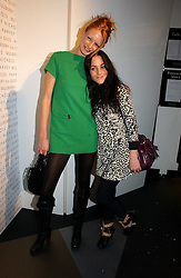 Left to right, model OLIVIA INGE and actress JAMIE WINSTON at a party to celebrate the launch of a range of leather accessories designed by Giles Deacon for Mulberry held at Harvey Nichols, Knightsbridge, London on 30th October 2007.<br /><br />NON EXCLUSIVE - WORLD RIGHTS