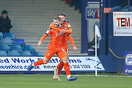 Goal Luton Town forward Elliot Lee (10) scores a goal and celebrates during the EFL Sky Bet League 1 match between Luton Town and Plymouth Argyle at Kenilworth Road, Luton, England on 17 November 2018.