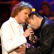 NLD/Utrecht/20060319 - Gala van het Nederlandse lied 2006, Veldhuis & Kemper, Remco Veldhuis en Richard Kemper