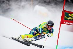 Andre Myhrer of Sweden competes during 1st run of Men's GiantSlalom race of FIS Alpine Ski World Cup 57th Vitranc Cup 2018, on March 3, 2018 in Kranjska Gora, Slovenia. Photo by Ziga Zupan / Sportida