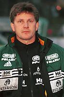 99052009: Moss-trener Knut Thorbjørn Eggen. Stabæk - Moss, 23. april 1999. (Foto: Peter Tubaas)