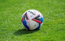 Official match ball prior to kick off- Mandatory by-line: Nizaam Jones/JMP - 12/09/2020 - FOOTBALL - Jonny-Rocks Stadium - Cheltenham, England - Cheltenham Town v Morecambe - Sky Bet League Two