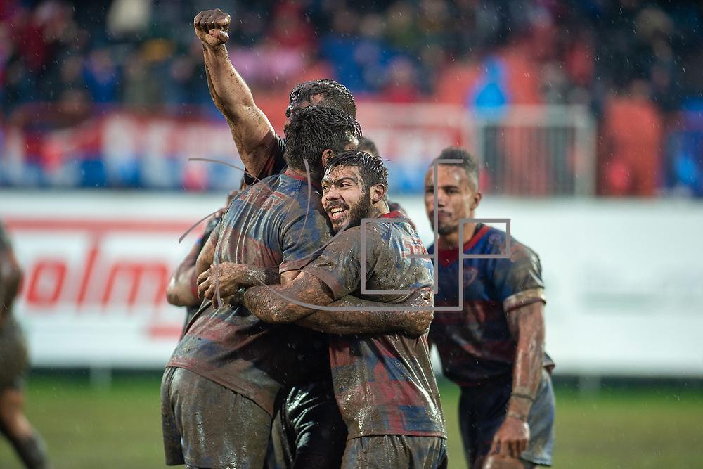 Rovigo 18/01/2020 Stadio BAttaglini<br /> Finale Coppa Italia 2019/2020<br /> Petrarca Padova vs Rovigo